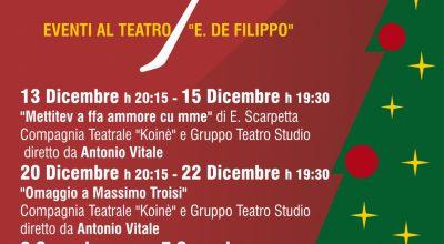 Progetto Natale a Crispano – Programma spettacoli teatrali ad ingresso gratuito